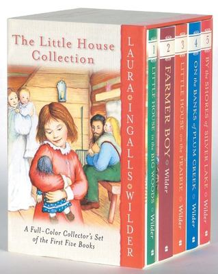 The Little House Collection Box Set (Full Color) 9780060754280