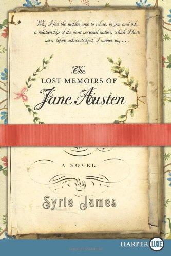 The Lost Memoirs of Jane Austen 9780061992841