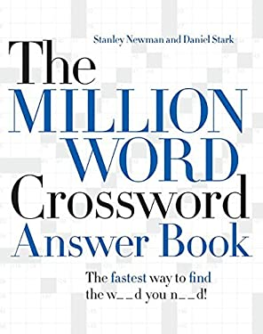 The Million Word Crossword Answer Book 9780061125904