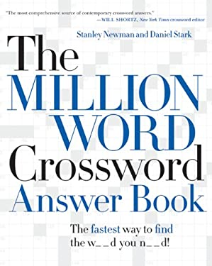 The Million Word Crossword Answer Book 9780061125911