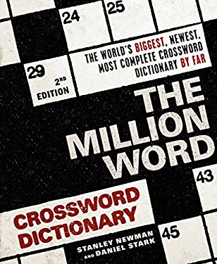 The Million Word Crossword Dictionary 9780061689017