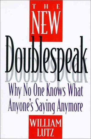The New Doublespeak