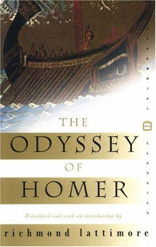 a review of the odyssey by homer Homer: odyssey reverse side of a silver denarius showing odysseus walking with a staff and being greeted by his  our editors will review what you've submitted,.