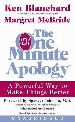 The One Minute Apology: The One Minute Apology 9780060538248