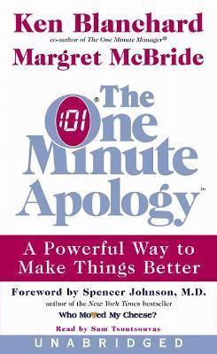 The One Minute Apology: The One Minute Apology