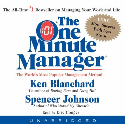The One Minute Manager CD: The One Minute Manager CD 9780060567507