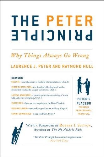The Peter Principle: Why Things Always Go Wrong 9780062092069