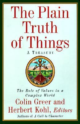 The Plain Truth of Things: Treasury, a