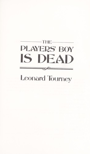 The Players' Boy is Dead