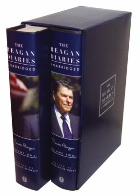 The Reagan Diaries Unabridged: Volume 1: January 1981-October 1985 Volume 2: November 1985-January 1989 9780061346255