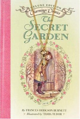 The Secret Garden Deluxe Book and Charm [With Gold-Tone Key Charm]