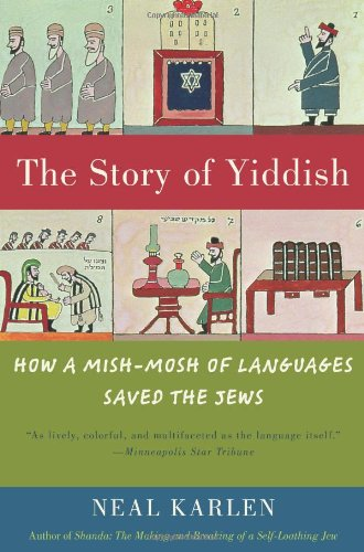 The Story of Yiddish: How a Mish-Mosh of Languages Saved the Jews 9780060837129