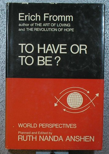 To Have or to Be?