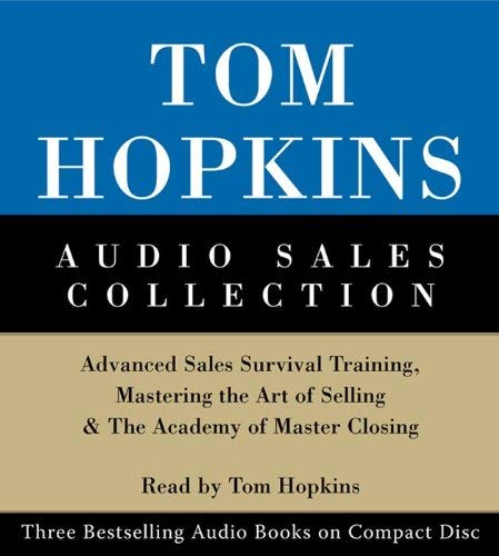 Tom Hopkins Audio Sales Collection: Tom Hopkins Audio Sales Collection 9780060514716