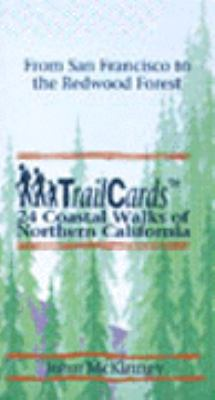 Trailcards 24 Coastal Walks of Northern California