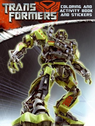 Transformers: Coloring and Activity Book and Stickers [With Stickers]