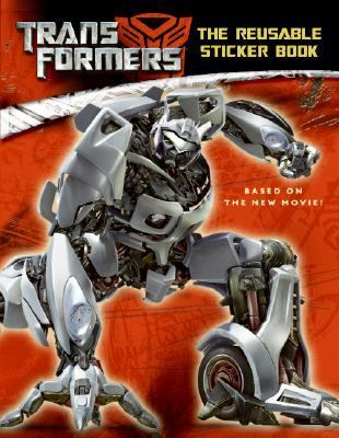 Transformers: The Reusable Sticker Book [With Stickers]