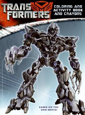 Transformers [With 4 Jumbo Crayons]
