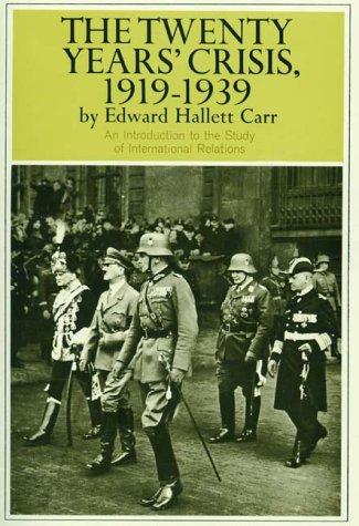 Twenty Years' Crisis, 1919-1939 9780061311222