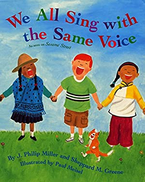 We All Sing with the Same Voice [With CD] 9780060274757
