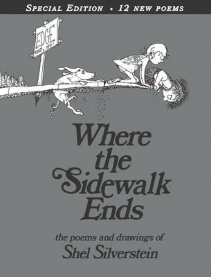 Where the Sidewalk Ends: Poems & Drawings 9780060572341