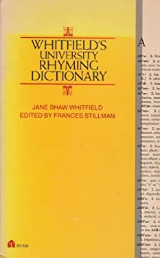 Whitefield's University Rhyming Dictionary