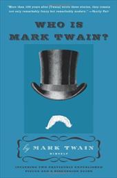 Who Is Mark Twain? 211404