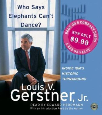 Who Says Elephants Can't Dance? CD Sp: Who Says Elephants Can't Dance? CD Sp