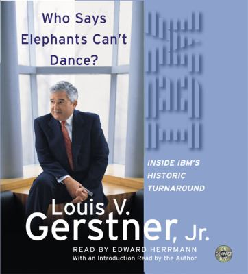 Who Says Elephants Can't Dance? CD: Who Says Elephants Can't Dance? CD