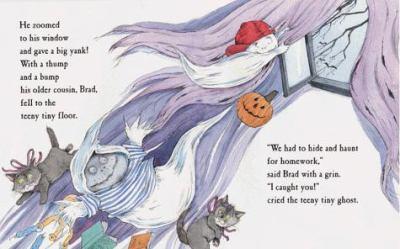 Whooo's Haunting the Teeny Tiny Ghost?
