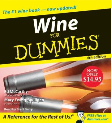Wine for Dummies 9780061672781