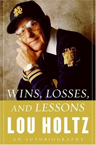 Wins, Losses, and Lessons: An Autobiography 9780060840808