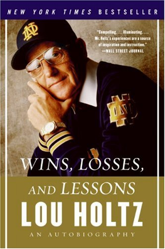 Wins, Losses, and Lessons: An Autobiography 9780060840815