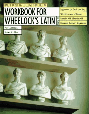 Workbook for Wheelock's Latin 9780062734716