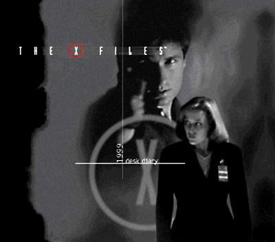 X-Files Desk Diary