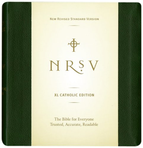XL Catholic Bible-NRSV 9780061946547