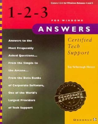 1-2-3 for Windows Answers: Certified Tech Support 9780078820687