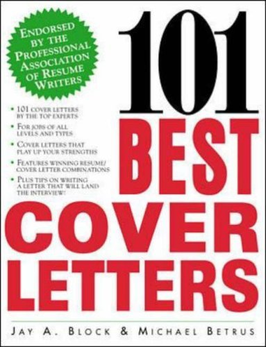 Best Book Cover Letter : Best cover letters by jay a block michael
