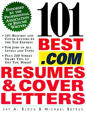 101 Best.com Resumes and Cover Letters 9780071370448