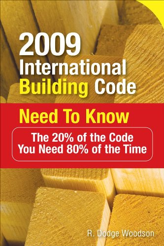2009 International Building Code Need to Know: The 20% of the Code You Need 80% of the Time 9780071592574