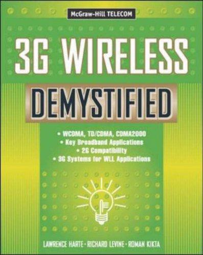 3g Wireless Demystified 9780071363013