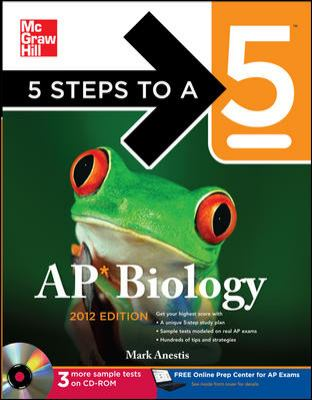 5 Steps to a 5 AP Biology [With CDROM] 9780071751834