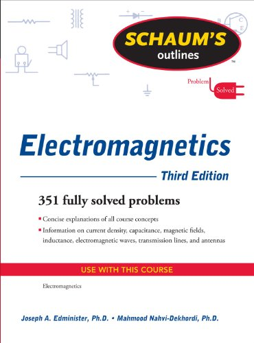 Schaum's Outline of Electromagnetics 9780071632355