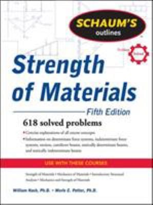 Schaum's Outline of Strength of Materials 9780071635080