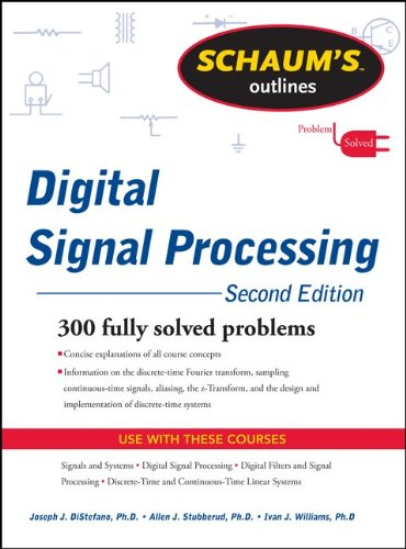 Schaums Outline of Digital Signal Processing 9780071635097