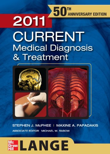 Current Medical Diagnosis and Treatment 2011 9780071700559