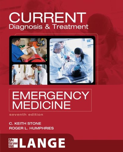 Current Diagnosis & Treatment Emergency Medicine 9780071701075