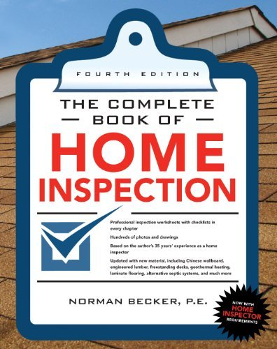 Complete Book of Home Inspection 4/E 9780071702775