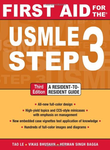 First Aid for the USMLE Step 3 9780071712972