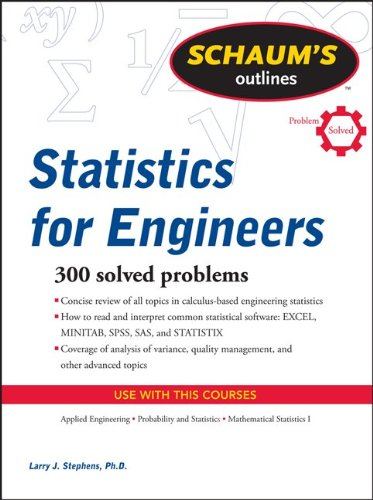 Schaum's Outline of Statistics for Engineers 9780071736466